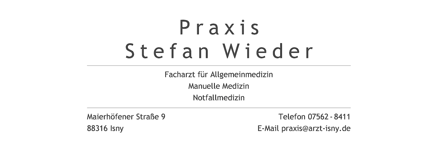 Praxis Stefan Wieder